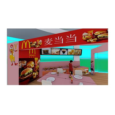 模拟情景麦当劳